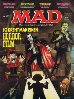 Go to MAD Magazine #160 • Germany • 1st Edition - Williams