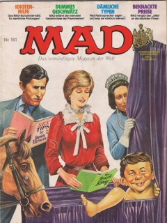 Go to MAD Magazine #161 • Germany • 1st Edition - Williams