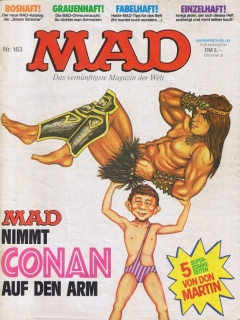 Go to MAD Magazine #163 • Germany • 1st Edition - Williams
