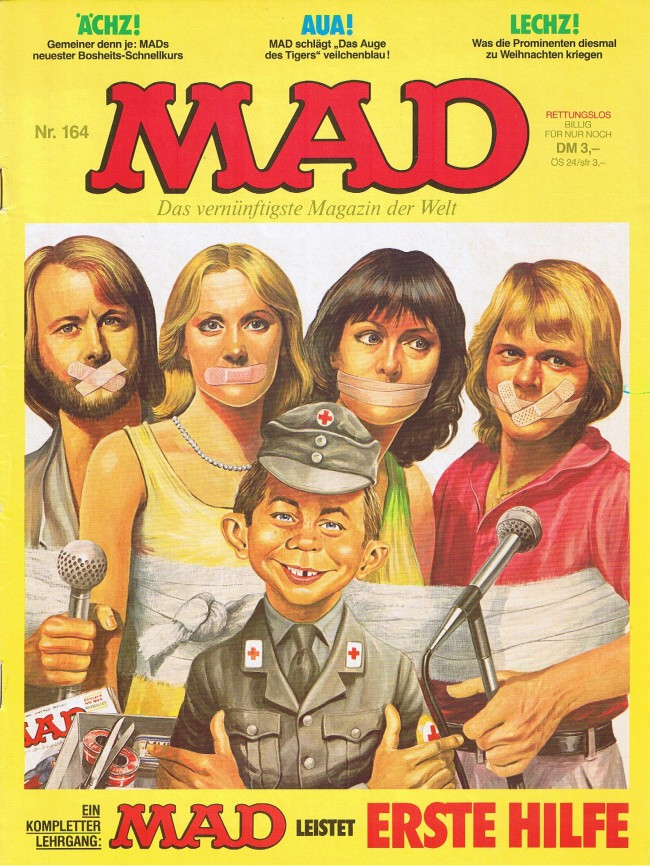 MAD Magazine #164 • Germany • 1st Edition - Williams