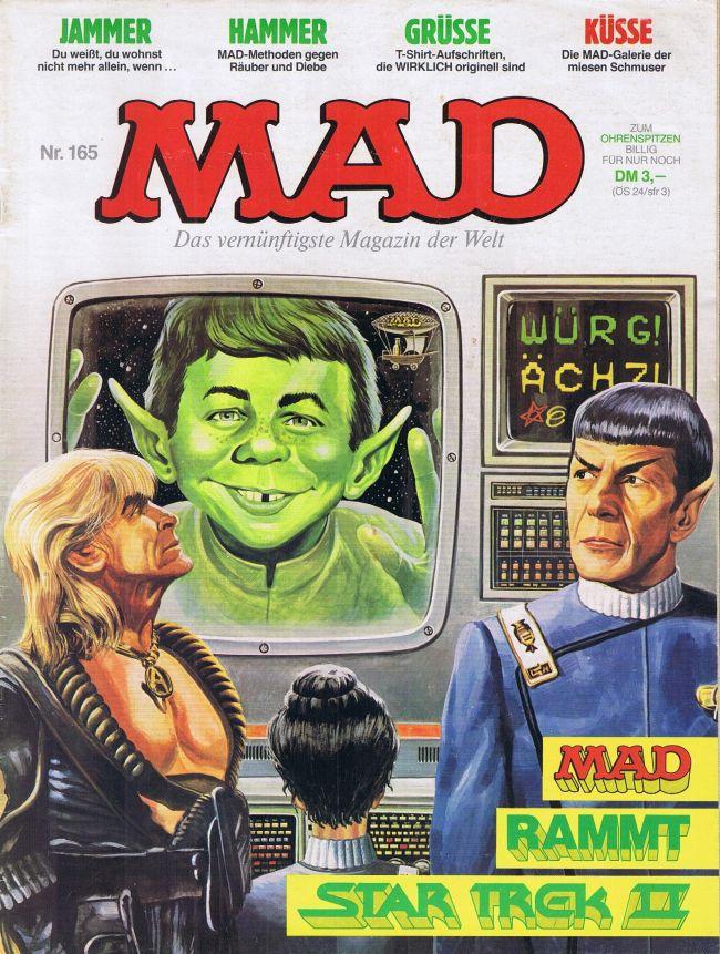 MAD Magazine #165 • Germany • 1st Edition - Williams