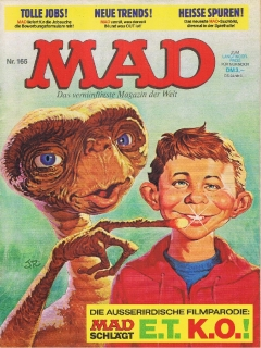 Go to MAD Magazine #166 • Germany • 1st Edition - Williams