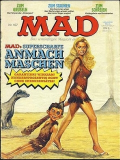 Go to MAD Magazine #167 • Germany • 1st Edition - Williams