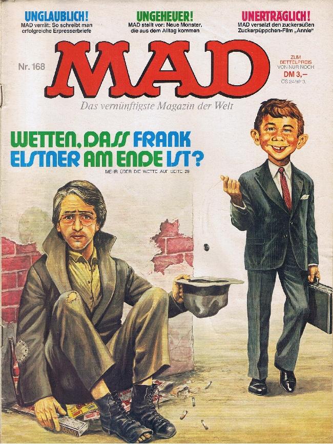 MAD Magazine #168 • Germany • 1st Edition - Williams