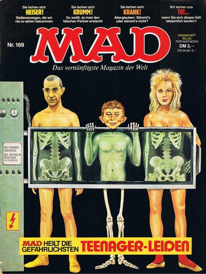 MAD Magazine #169 • Germany • 1st Edition - Williams