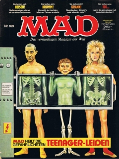 Go to MAD Magazine #169 • Germany • 1st Edition - Williams