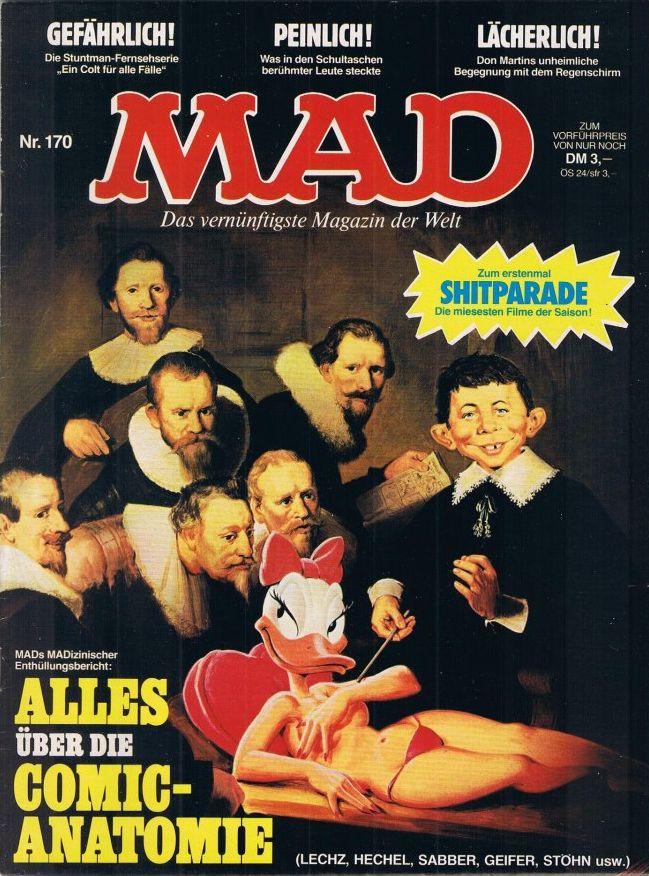 MAD Magazine #170 • Germany • 1st Edition - Williams
