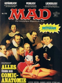 Go to MAD Magazine #170 • Germany • 1st Edition - Williams