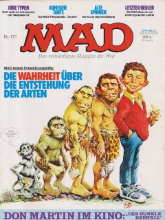 Go to MAD Magazine #171 • Germany • 1st Edition - Williams