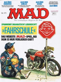 Go to MAD Magazine #173 • Germany • 1st Edition - Williams