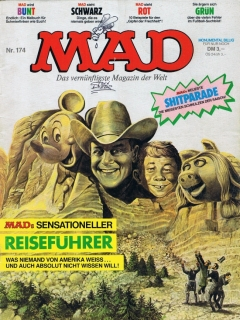 Go to MAD Magazine #174 • Germany • 1st Edition - Williams