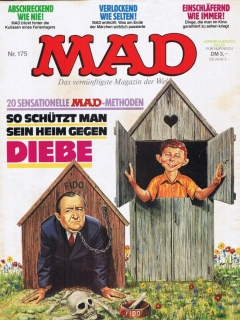 Go to MAD Magazine #175 • Germany • 1st Edition - Williams