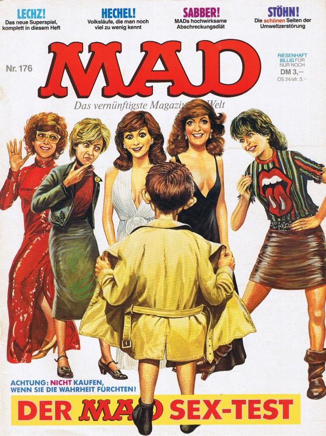 MAD Magazine #176 • Germany • 1st Edition - Williams