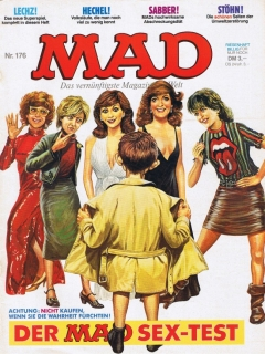 Go to MAD Magazine #176 • Germany • 1st Edition - Williams