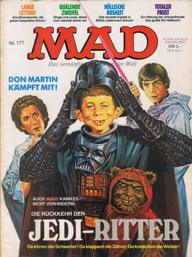 MAD Magazine #177 • Germany • 1st Edition - Williams