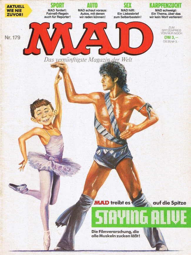MAD Magazine #179 • Germany • 1st Edition - Williams