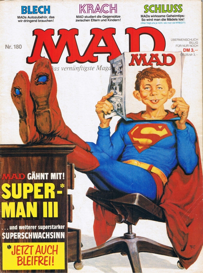 MAD Magazine #180 • Germany • 1st Edition - Williams