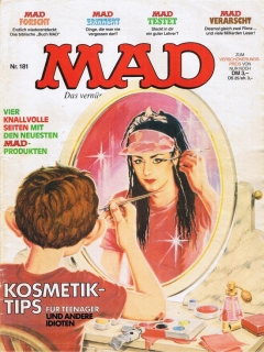 Go to MAD Magazine #181 • Germany • 1st Edition - Williams