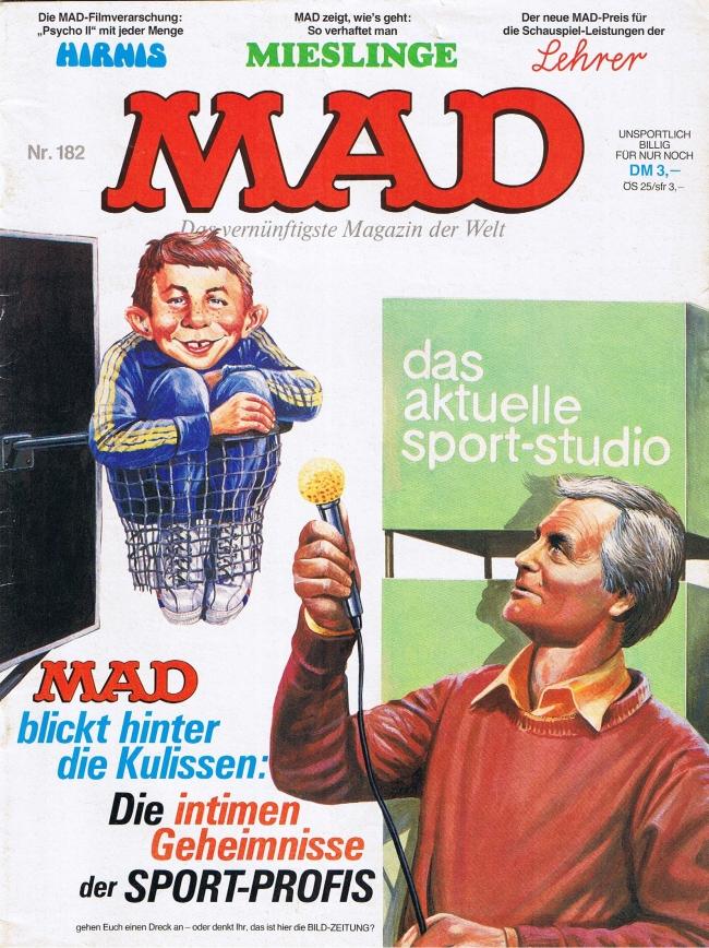 MAD Magazine #182 • Germany • 1st Edition - Williams