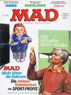 Go to MAD Magazine #182 • Germany • 1st Edition - Williams