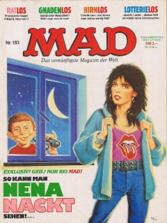 Go to MAD Magazine #183 • Germany • 1st Edition - Williams