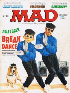 Go to MAD Magazine #185 • Germany • 1st Edition - Williams