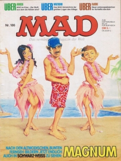 Go to MAD Magazine #186 • Germany • 1st Edition - Williams