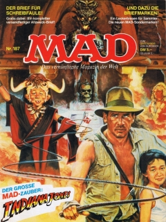 Go to MAD Magazine #187 • Germany • 1st Edition - Williams