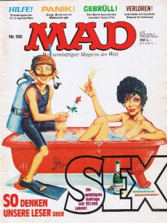 Go to MAD Magazine #190 • Germany • 1st Edition - Williams