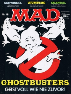 Go to MAD Magazine #191 • Germany • 1st Edition - Williams