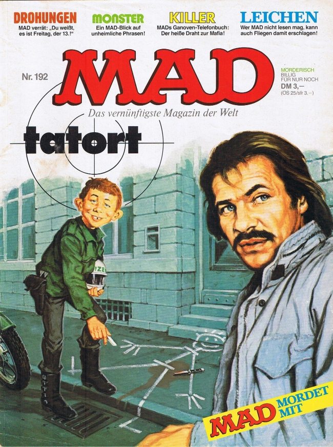 MAD Magazine #192 • Germany • 1st Edition - Williams