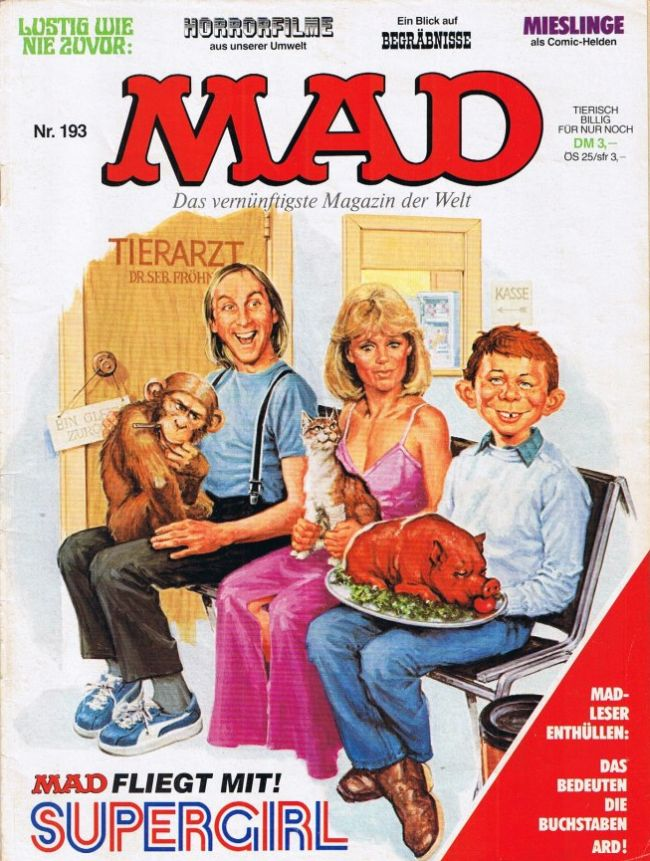 MAD Magazine #193 • Germany • 1st Edition - Williams