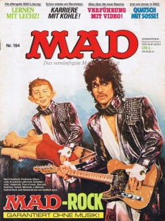 Go to MAD Magazine #194 • Germany • 1st Edition - Williams