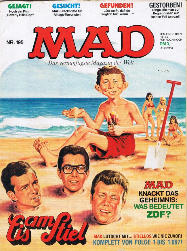 MAD Magazine #195 • Germany • 1st Edition - Williams