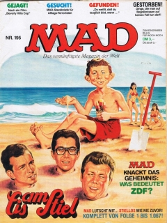Go to MAD Magazine #195 • Germany • 1st Edition - Williams