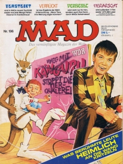 Go to MAD Magazine #196 • Germany • 1st Edition - Williams