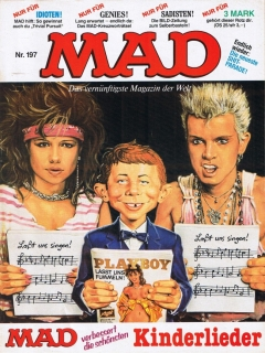 Go to MAD Magazine #197 • Germany • 1st Edition - Williams