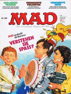 Go to MAD Magazine #198 • Germany • 1st Edition - Williams