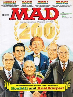 Go to MAD Magazine #200 • Germany • 1st Edition - Williams