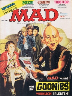 Go to MAD Magazine #201 • Germany • 1st Edition - Williams