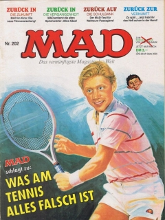 Go to MAD Magazine #202 • Germany • 1st Edition - Williams