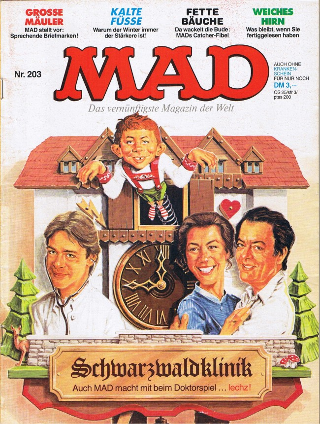 MAD Magazine #203 • Germany • 1st Edition - Williams