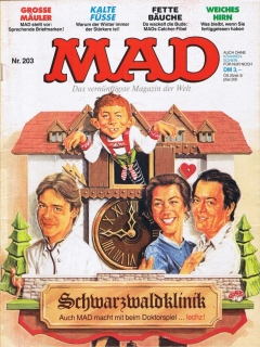 Go to MAD Magazine #203 • Germany • 1st Edition - Williams