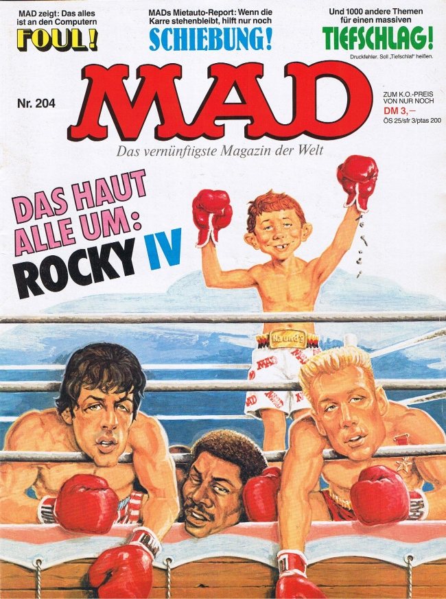 MAD Magazine #204 • Germany • 1st Edition - Williams