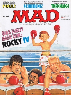MAD Magazine #204 • Germany • 1st Edition - Williams
