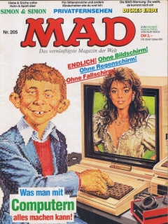 Go to MAD Magazine #205 • Germany • 1st Edition - Williams