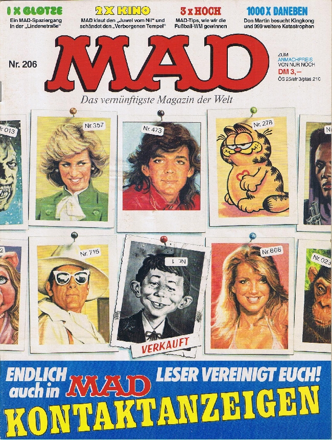 MAD Magazine #206 • Germany • 1st Edition - Williams