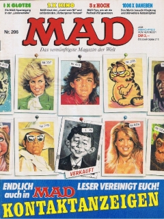 Go to MAD Magazine #206 • Germany • 1st Edition - Williams