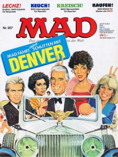 Go to MAD Magazine #207 • Germany • 1st Edition - Williams