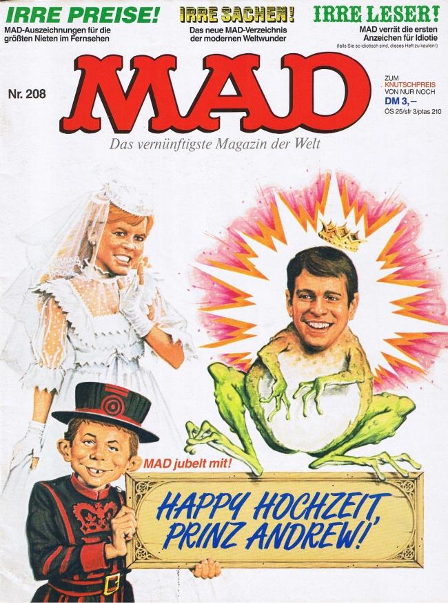 MAD Magazine #208 • Germany • 1st Edition - Williams